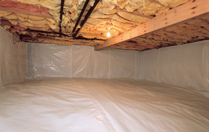 CleanSpace® vapor barrier after in Coeur d'Alene