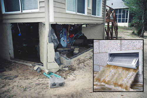 Reduce Your Flood Insurance Costs And Protect Foundation From Damage