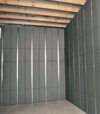 Thermal insulation panels for basement finishing in Post Falls, Idaho and Washington